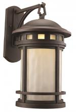 Trans Globe 40374 RT - 1LT POST LANTERN-LG-WATER-RT