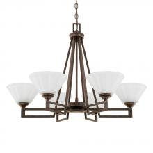 Capital 411361RS-318 - 6 Light Chandelier
