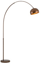CAL Lighting BO-2787FL-RU - 100W Ragusa Metal Floor Lamp
