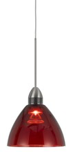 CAL Lighting UPL-716-RED - Dimmable LED 9W, 3500K, Pendant