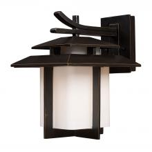 ELK Lighting 42171/1 - Kanso 1-Light Outdoor Wall Lamp in Hazelnut Bronze